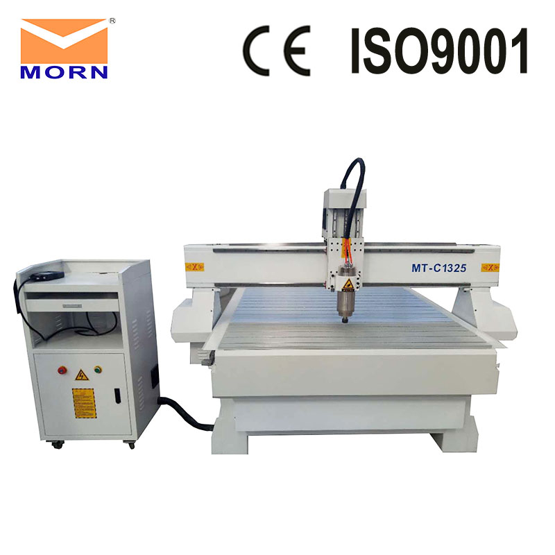 MORN Engraving Machine 1325 CNC Router 3kw Spindle Motor 1300X2500mm Working Area