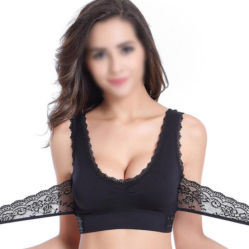Wireless Sports Bra High Stretch Breathable Top Fitness Women Padded For Running Yoga Gym Seamless Crop Bra Gradient Sport Bra