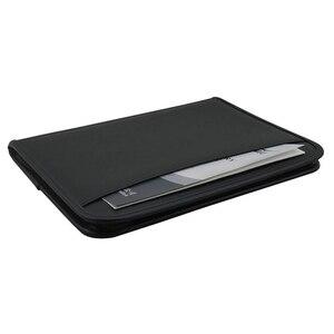 Image 5 - Многофункциональная папка для документов A4, профессиональный деловой чехол для документов из искусственной кожи, органайзер, портфель с калькулятор