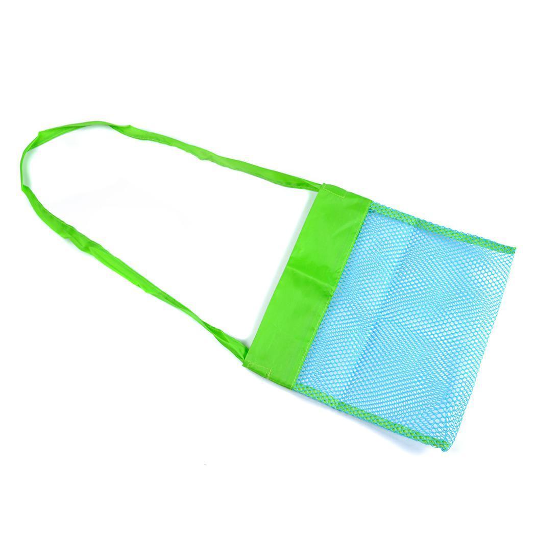 Children Baby Collection Bag Beach Toys Storage Hand Washing: Shoulder Green, Blue, Big Green, Big Blue Bag