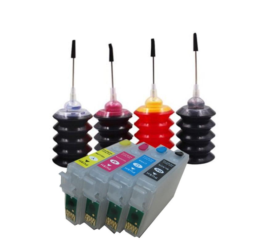 Kit de recarga de tinta para T2991 29 29XL cartucho de tinta para EPSON XP 235 245 332 335 432 435 247 442 345 255 257 352 355 452 455 printer