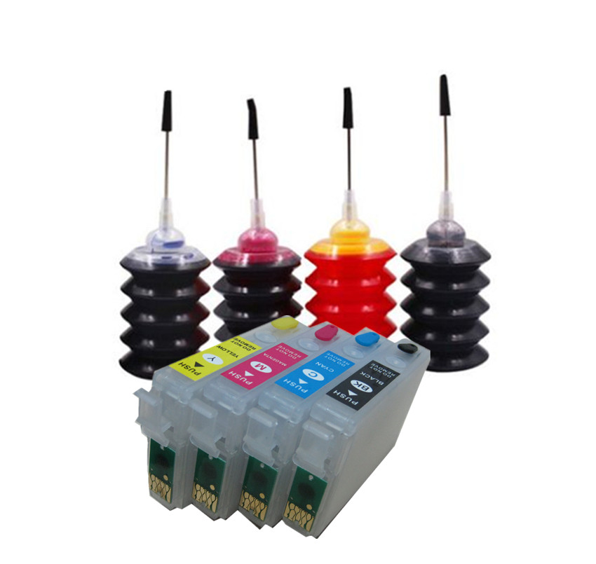 Refill Ink Kit For T2991 29 29XL Ink Cartridge For EPSON XP 235 245 332 335 432 435 247 442 345 255 257 352 355 452 455 Printer