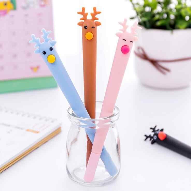 Ellen Brook 1 Stück Koreanische Briefpapier Nette Löschbaren Kawaii Kitz Stift Werbung Kreative Schule Büro Liefert Gel Stifte Geschenk