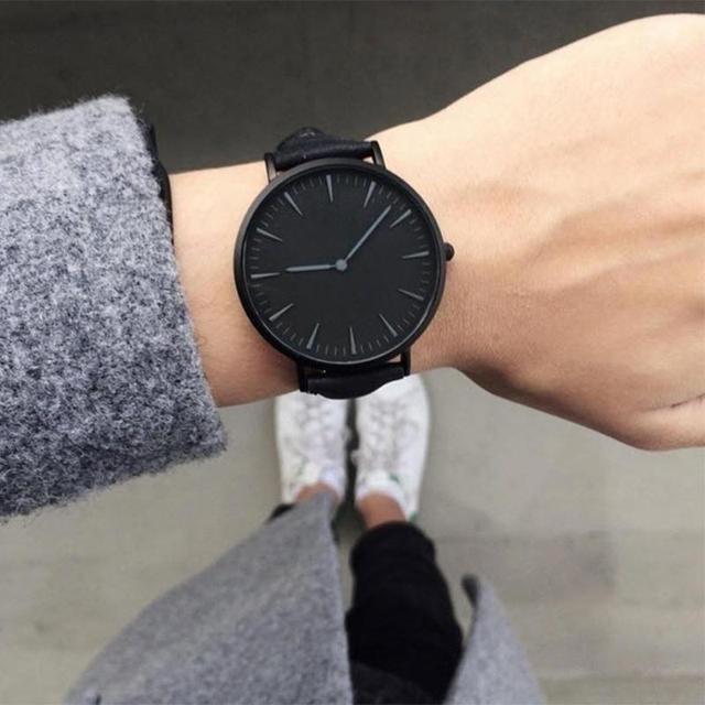 FUNIQUE Watch Women Couple Leather Strap Clock Wristband Fashion & Casual Analog Lady Bracelet Quartz Watches Dress Wriswatch