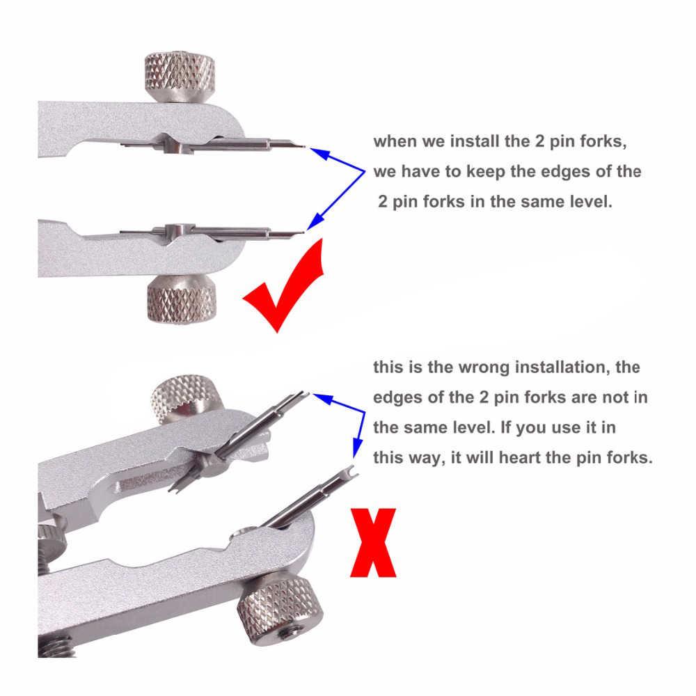 腕時計ブレスレットプライヤー6825標準の春バー時計バンド修理除去ツール