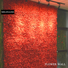 MELSNAJSD  1 piece 60X40cm hydrangea Silk Flowers Artificial Flower for Decoration Wall Romantic Wedding Backdrop Decor