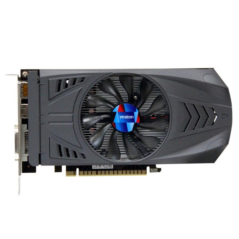 HOT Yeston Geforce Gtx 1050 Ti 4Gb Gddr5 Image Cards Nvidia Pci Express X16 3.0 Desktop Computer Pc Video Gaming Image Card