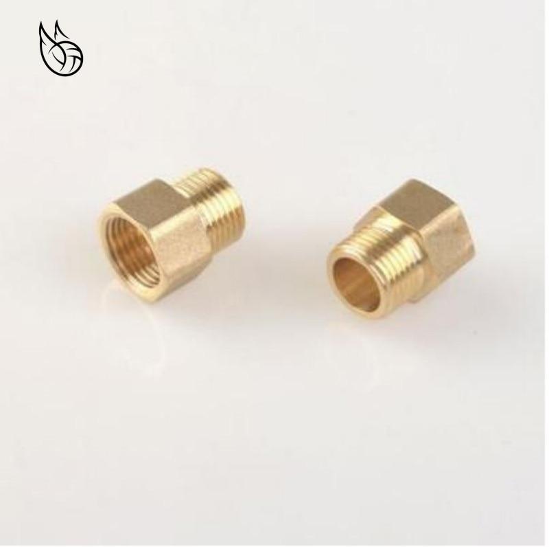 "Brass Plumbing Fitting 3//8/"" BSP Brass Hex Nipple Taper Thread"