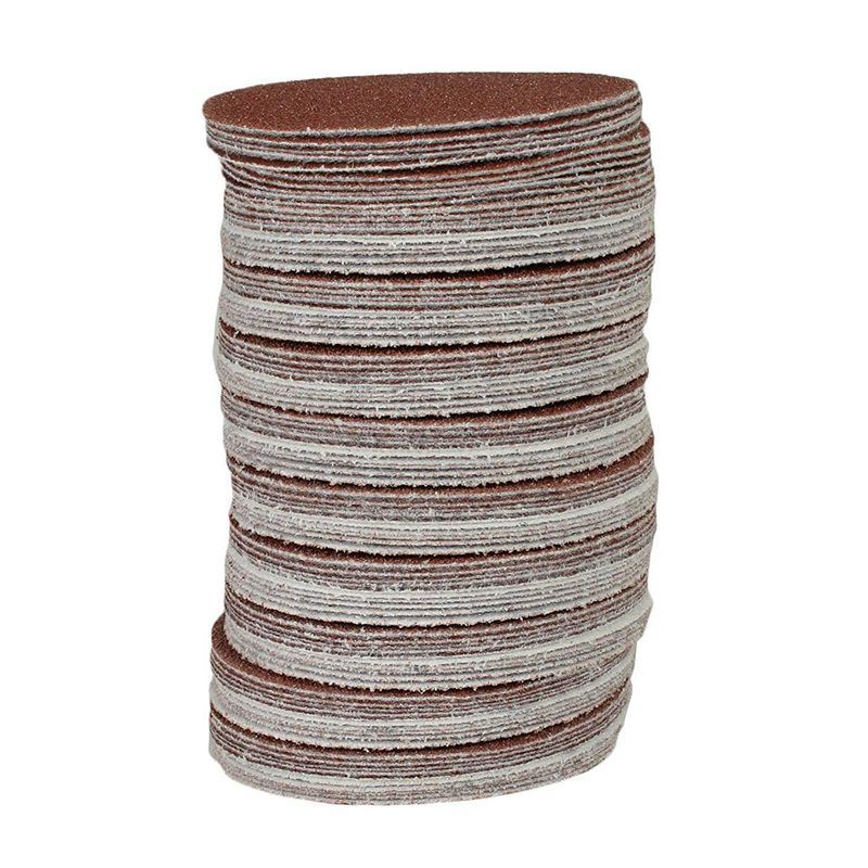 100x Hook And Loop DA Sanding Grinding Abrasive Pad Mixed Grit 3inch 75mm
