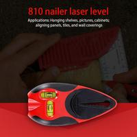 Precise Level Ruler Nailer Infrared Ray Horizontal Marker Home Decoration Renovation Rustproof Horizontal Ruler