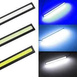 3 шт 17 см Универсальный дневного света УДАРА DRL светодиодный автомобиля лампы внешнего освещения авто водонепроницаемые наклейки для