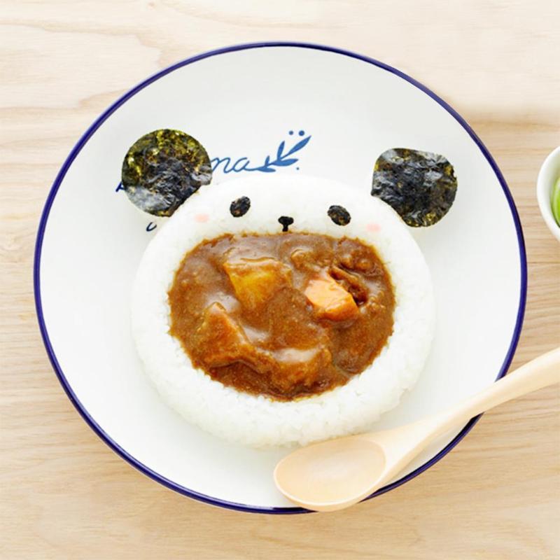 5 шт. милый мультяшный Кот Медведь Суши Нори форма для риса Декор резак форма для приготовления бенто сэндвич DIY инструмент кухонные принадлежности-2