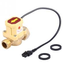 цена на 220V G3/4-G1/2 Thread Water Pump Adjustable Flow Sensor Pressure Automatic Control Switch