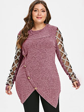 Women Casual Pullover Big Size