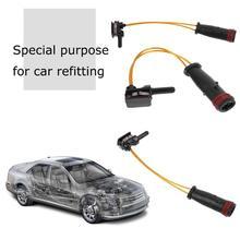 Автомобильный Стайлинг, Передние Задние тормозные колодки, датчик износа, подходит для Mercedes-Benz W220 W203 W211 W221 W204 2115401717, высокое качество
