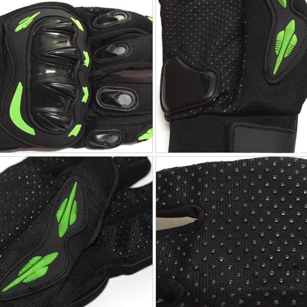 Motocross moto gants Guantes Motocicleta cyclisme VTT Dirt Bike respirant gants costume pour toutes les saisons