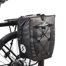 27L 19L Waterproof Bike Bag MTB Road Bikes Bicycle Rear Rack Pannier Cycling Rear Seat Shelf Bicycle Bags Panniers Dropshipping цена