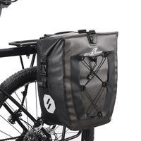 27l 19l saco de bicicleta à prova dwaterproof água mtb bicicletas de estrada traseiro rack pannier ciclismo assento traseiro prateleira sacos panniers dropshipping|Cestos e bolsas p/ bicicleta| |  -