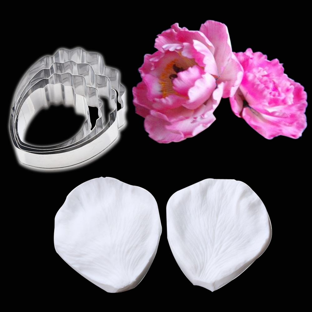 JEM 2 Set LIFE SIZE ARUM LILY /& LEAF Flower Icing Cut Out Cutters Sugarcraft