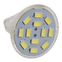 6W GU4(MR11) LED Spotlight MR11 12 SMD 5730 570 lm DC 12V