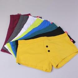 AIIOU мужское хлопковое нижнее белье трусы боксеры 8 шт./лот одноцветное цвет Высокое качество повседневное Homme под брюки для девочек нижнее
