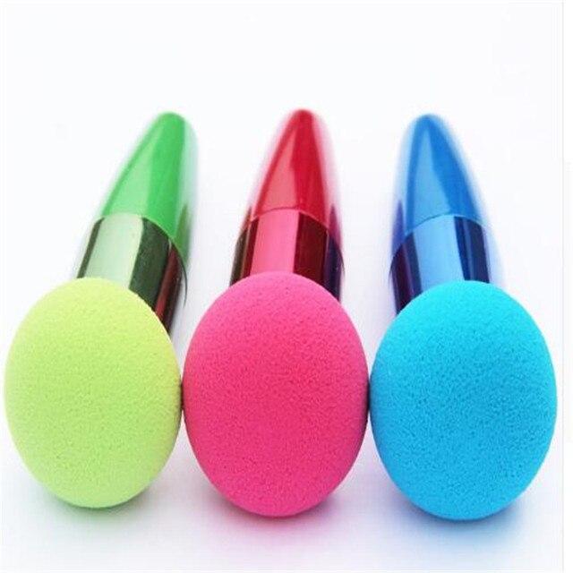 1 pcs Cream Foundation Make Up Foundation Powder Blush Face Beauty Cosmetic Makeup Brushes Liquid Sponge Brush 1