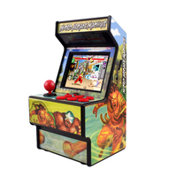 Data Frog Retro Mini Arcade Handheld Game Console 16 Bit Game Player Built in 156 Classic Games For Kids Gift Toy