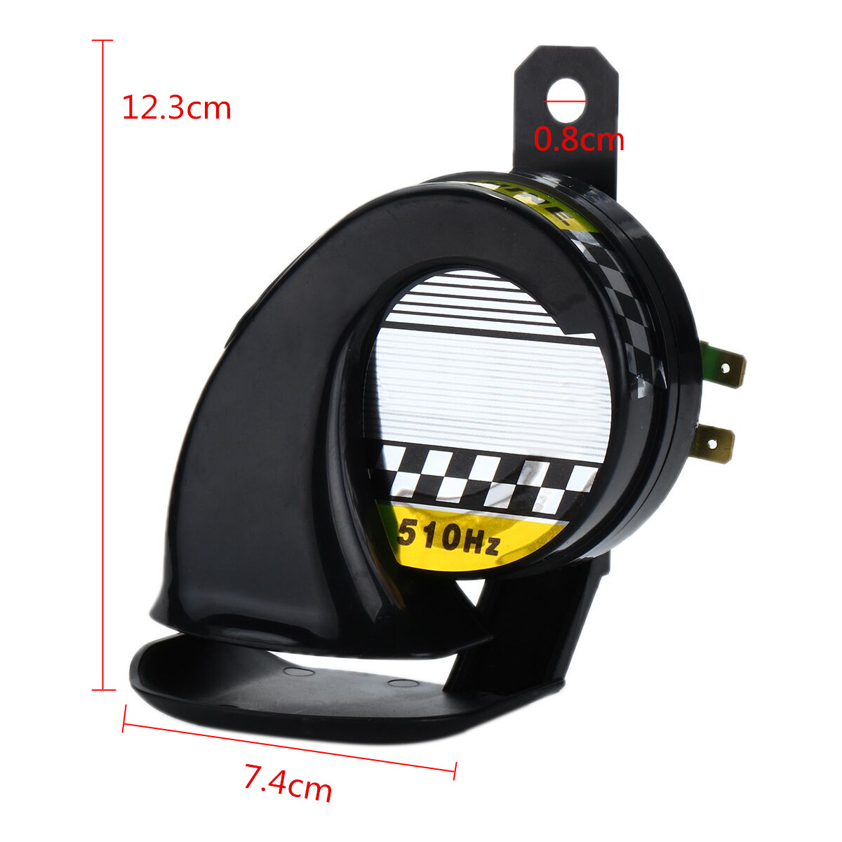 Image 5 - Universal 12V DC 130db Snail Air Motorcycle Horn Siren Loud for Car Truck Motorbike Waterproof-in Multi-tone & Claxon Horns from Automobiles & Motorcycles