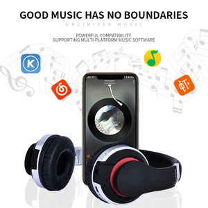 Image 4 - Wireless Headphones Bluetooth Headset Foldable Stereo Gaming Earphones With Microphone Support TF Card For IPad Mobile Phone