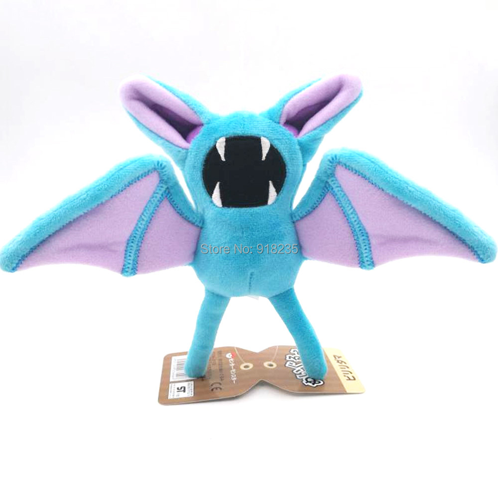 20 Lot Zubat 7 18CM Plush Doll Stuffed Toy