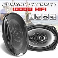1000W 6x9 inch 2 Way Component Car Coaxial Speaker Auto Door Vehicle Audio Music Stereo Lounspeaker Subwoofer Tweeters