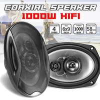 1000W 6x9 inch 2 Way Component Car Coaxial Speaker Auto Door Vehicle Audio Music Stereo Lounspeaker Subwoofer Tweeters
