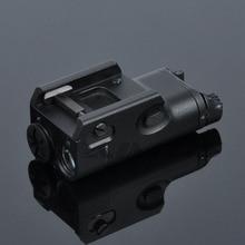 Tactical XC1 Pistol Light Mini LED Flashlight Military Ultra Compact Weapon Shockproof Hunting Lanterna For Glock 17 18C