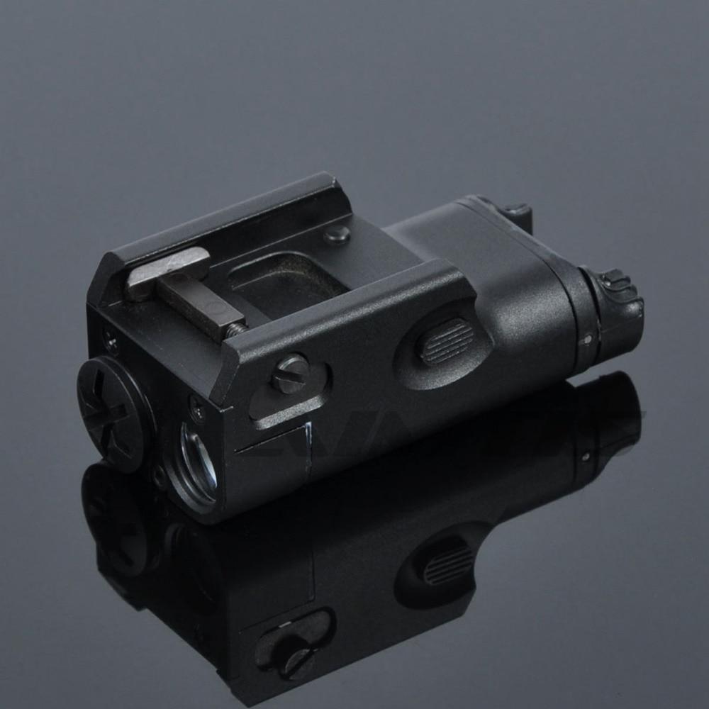 xc1 tatico pistola luz mini lanterna led militar ultra compacto arma luz a prova de choque