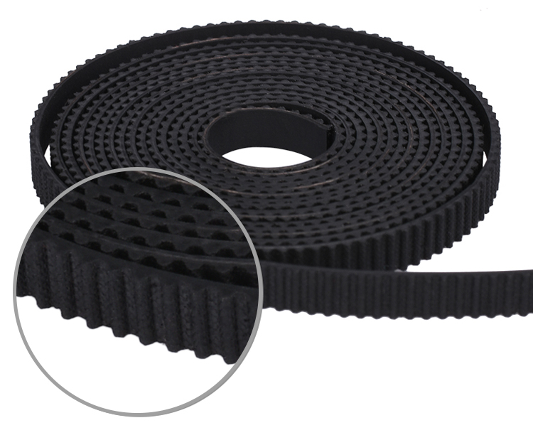 3D Printer Accessories GT2 Belt 6mm Rubber 2gt Opening Synchronous