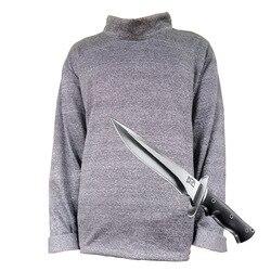 GEEAIR Kurzen ärmeln lange Shirt Schnitt-proof Kleidung 5-ebene Anti-schneiden Anti-punktion Anti-reißen Outdoor Körper Schutz
