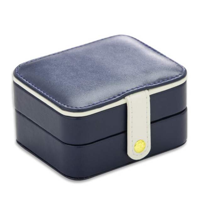 a99a948d20b5 US $9.19 5% OFF|Small Travel Accessories Case Jewelry Storage Casket PU  Ring Earring Organizer Bag Gift For Wedding Birthday-in Makeup Organizers  from ...