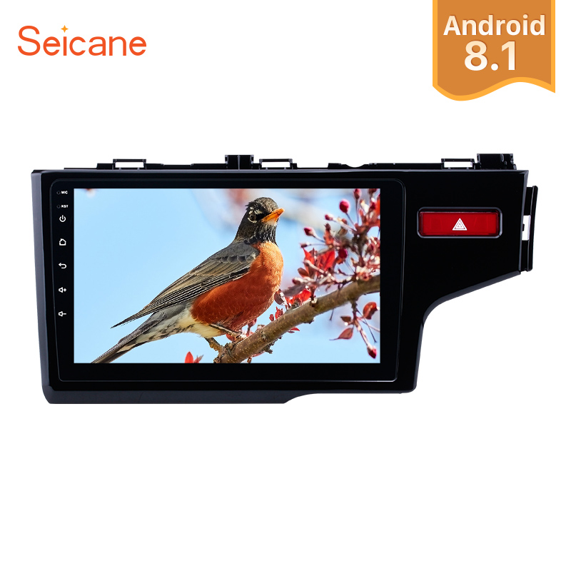 Seicane 10.1 Inch Quad-core Android 8.1 Car Radio GPS Navigation Stereo Multimedia Player for 2014 2015 HONDA JAZZ/FIT (RHD)Seicane 10.1 Inch Quad-core Android 8.1 Car Radio GPS Navigation Stereo Multimedia Player for 2014 2015 HONDA JAZZ/FIT (RHD)