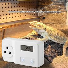 цена на Smart Digital Temperature Switch Thermostat Controller Reptile Hermit Crab Snake Lizard Temperature Controller