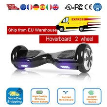 Hoverboard 6.5 Inch Balans Hover Board With Bag Bluetooth Remote Control Overboard Skateboard Electric Scooter Adult Kids