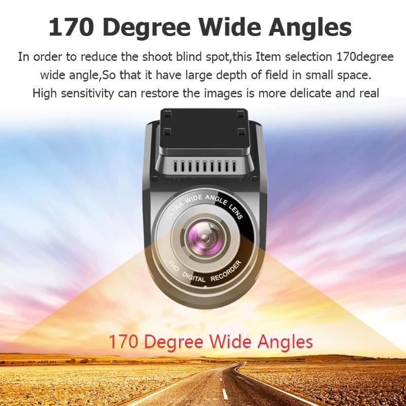 "Image 5 - VODOOL T691C Mini 2"" 4K 2160P/1080P FHD Car DVR Dash Cam Camera 170 Degree Lens Car Video Recorder WiFi GPS Night Vision Dashcam-in DVR/Dash Camera from Automobiles & Motorcycles"