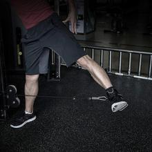 цена на 2 Pcs New Exercise Machine Attachment Ankle Cuff Adjustable Ankle Straps Workout Leg Training Bodybuilding Gym Equipment