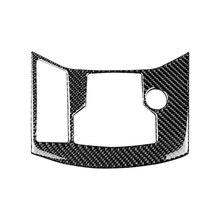 Para mazda CX 5 cx5 2017 2018 fibra de carbono do carro mudança de engrenagem eletrônico freio de mão painel capa apenas lhd