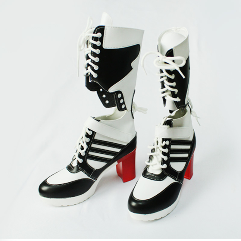 Milky Way Harley Suicide Cosplay Costume Suicide Shoes Cosplay Harley Boots