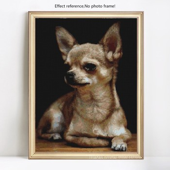 HUACAN Diamond Mosaic Dogs Diamond Painting Full Square New Arrival Animals Diamond Embroidery Sale Pictures