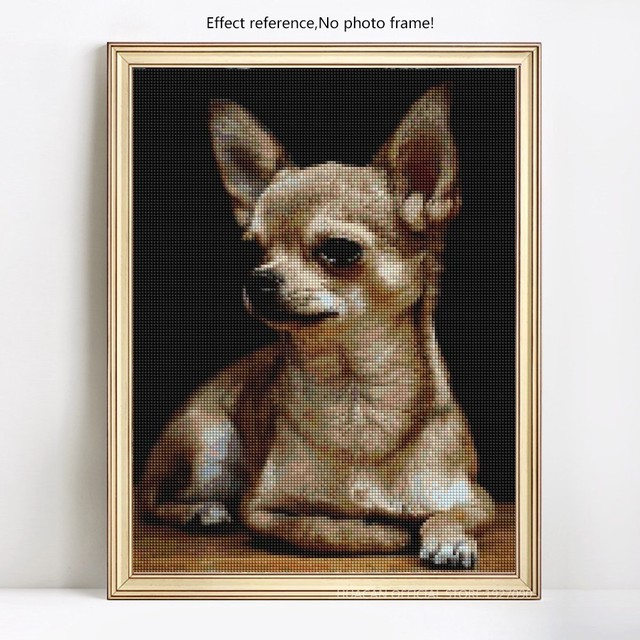HUACAN Diamond Mosaic Dogs Diamond Painting Full Square New Arrival Animals Diamond Embroidery Sale Pictures With