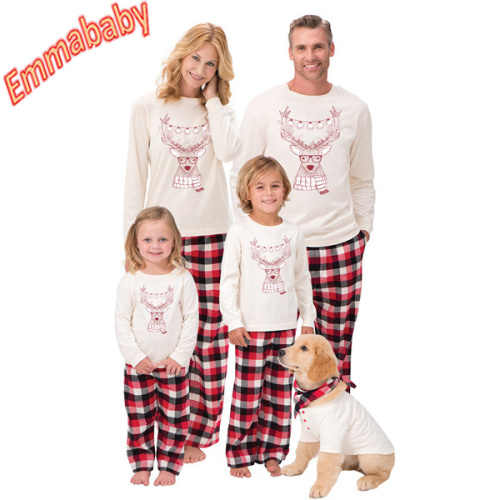 bbd9df18a710 Detail Feedback Questions about 2018 Xmas Pjs Family Matching Adult Women  Kids Christmas Nightwear Pyjamas Pajamas Hot on Aliexpress.com