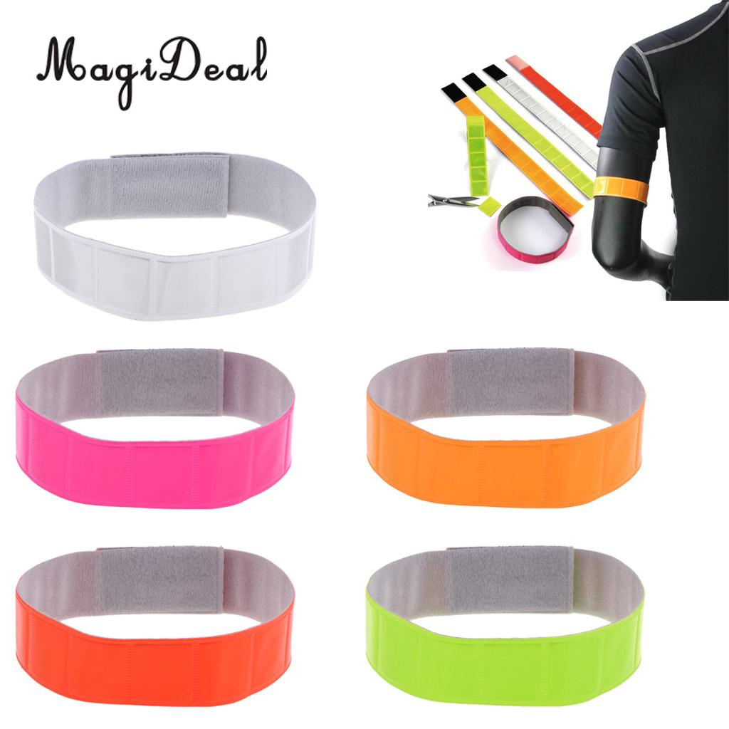 Camping & Hiking Outdoor Tools 5pcs High Visibility Reflective Wristband/ankle Band/armband/leg Strap For Night Outdoor Sports Safety To Have A Unique National Style