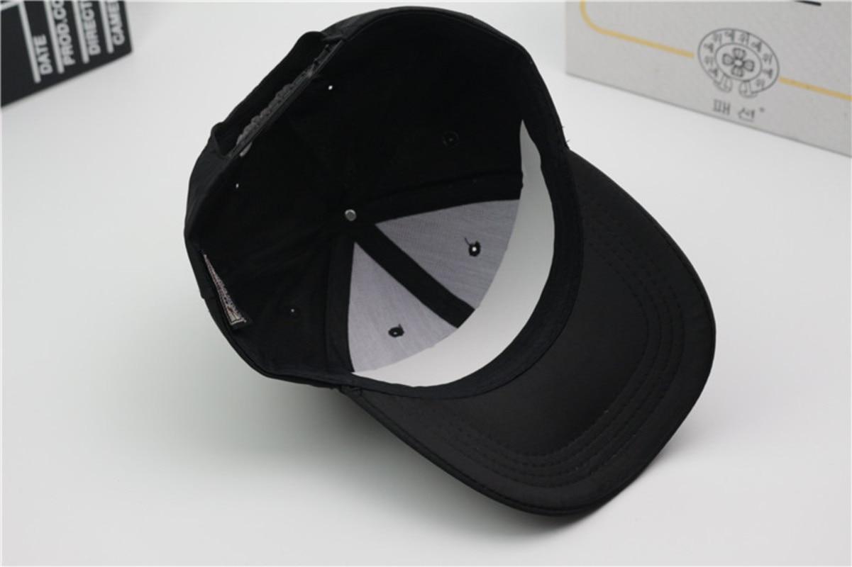 Exo Kim Min Seok Edition Huai Hand Nylon Touch Ash Fashion New Casquette Homme Baseball Cap Hat Caps Streetwear Bone Quality in Men 39 s Baseball Caps from Apparel Accessories