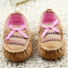Модная одежда для детей, Детская мода унисекс с бантом детская обувь, Новорожденные с пуховной внутренной частью, нескользящая Мягкая подошва сандалии
